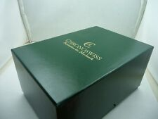 CHRONOSWISS RARE PRECIOUS WATCH WOOD BOX WITH FULL SET BLANCK WARRANTY - NOS
