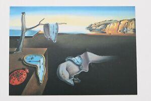 """SALVADOR DALI: """"Die Beständigkeit..."""" , Kunst-Postkarte / auch mit Rahmen"""