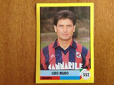 IL GRANDE CALCIO 92 1992 n 552 TARANTO MURO Figurina Sticker Vallardi NEW