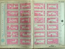 1909 Bloomingdale'S Upper East Side 59Th-65Th & 3Rd-5Th Manhattan Ny Atlas Map