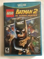 LEGO Batman 2: DC Super Heroes Wii-U  Brand New Factory sealed!!!