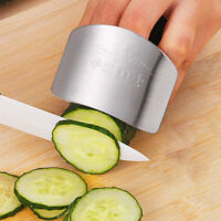 Stainless Steel Finger Hand Protector Guard Knife Slice Shield Kitchen Tools hi