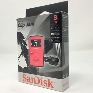 SanDisk SDMX26-008G-G46P 8GB Clip Jam MP3 Players (Pink)