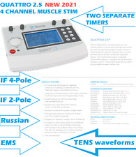 2021 Current Solutions Quattro 2.5 TENS/EMS/IF/Russian Unit, Chattanooga upgrade