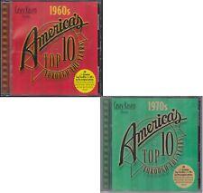Casey Kasem America's Top Ten 1960s & 1970s Through The Years 2 CD Lot 40 Hits
