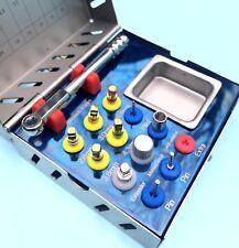 Expansor De Hueso Dental Kit de elevación de los senos nasales 12 piezas de instrumentos quirúrgicos implante Nuevo