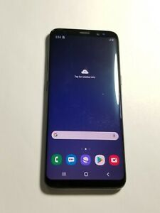 Samsung Galaxy S8 G950U - Black - 64GB - Verizon Unlocked - Screen Burn - 43MR