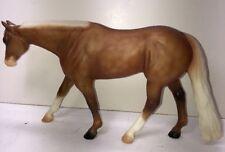 7� Peter Stone Co. Model Horse Orangish Tan With White Mane #a