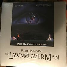 The Lawnmower Man : Unrated Director's Cut  Laserdisc Buy 6 for free shipping