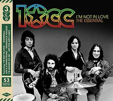 10cc I'm Not In Love-The Essential 3-CD NEW SEALED Dreadlock Holiday+