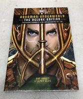 DC Aquaman: Underworld The Deluxe Edition  By Dan Abnett & Stephen Sejic.New
