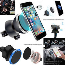 Universal 360°Rotating Magnetic Mount Car Air Vent Mobile Phone Holder Stand Gps