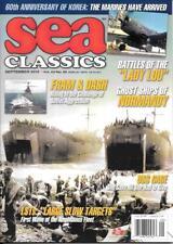 Sea Classics Sept.2010 USMC Marines Korea War LST Amphibious USS Gage Normandy