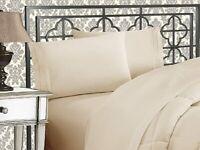 Elegant Comfort 4-Pcs 1500 Thread Count Egyptian Quality Bed Sheet Set CAL KING