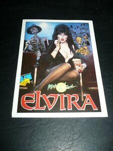 ELVIRA, MISTRESS OF THE DARK, film card [Cassandra Peterson]