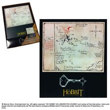 Lord of the Rings. Thorins Map And Key. Movie item. LOTR / The Hobbit