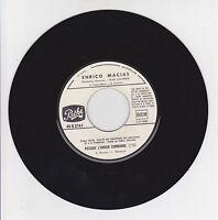 Enrico MACIAS Vinyle 45T Juke Boxe PUISQUE L'AMOUR COMMANDE - PATHE 2161  RARE