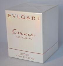 Bvlgari Omnia Crystalline By Bvlgari Edt Spray 2.2 Oz Brand new in Sealed Box