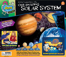 OUR AMAZING SOLAR SYSTEM - EDUCATIONAL SPACE SLINKY SCIENCE KIT & EXPERIMENT