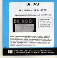 (CP55) Dr Dog, That Old Black Hole - 2012 DJ CD