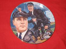 "Al Barlick Hof Umpire 1990 Gartlan 8.5"" Ceramic Collector's Plate Michael Taylor"