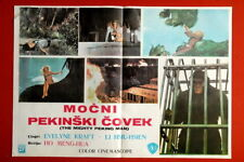 MIGHTY PEKING MAN SCI-FI 1977 RARE EXYU MOVIE INSERT