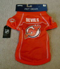 NEW JERSEY DEVILS Pet/Dog Red Mesh Hockey Jersey sz M