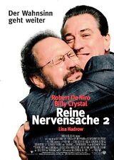 Reine Nervensache 2 Kinoplakat Filmposter Robert de Niro Billy Crystal Wahnsinn