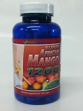 3 pack Super African Mango 1200 Extract 60 capsule Pure Weight loss MaritzMayer