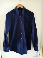 Charles Tyrwhitt Mens Navy Non Iron Extra Slim Fit Shirt Size M