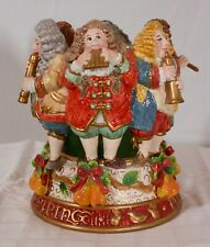 Fitz & Floyd 2000 Twelve Days Of Christmas 1 of 2 12 Pipers Piping Candleholder
