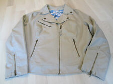 No Pattern Cotton Coats/Jackets Plus Size for Women