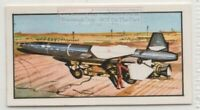 Q-5 Ramjet SupersonicTarget Recoverable Missile  Vintage Trade Ad Card
