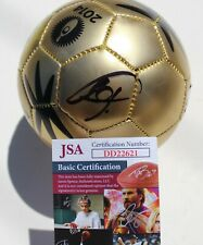 Bastian Schweinsteiger Signed 2014 Mini World Cup Soccer Ball w/JSA COA DD22621