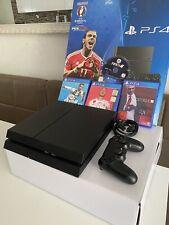Playstation 4 500GB JetBlack mit 4 spielen