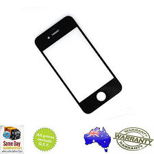 for iPHONE 4 - Front Outer Touch Screen Lens Glass Replacement - BLACK