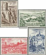 Luxembourg 431-434 (complete issue) with hinge 1948 Landscapes