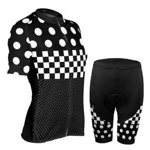 "Women's ""Nina"" Polka Dot Pro-Band Cycling Kit"