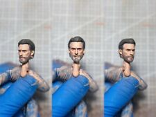 "Painted Service 1/12 Captain America Chris Evans Head Sculpt Fit 6"" shf ml One12"