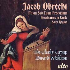 [BRAND NEW] CD: JACOB OBRECHT: THE CLERKS' GROUP: WICKHAM