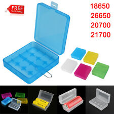 2X 5X 10X Battery Case Storage Box Plastic Holder for 18650 26650 20700 21700