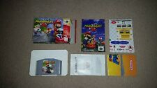 Mario Kart 64 Nintendo 64 N64 Game, Boxed, Cleaned & Tested