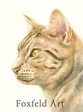 """10 x 8"""" Custom Acquerello Ritratto animale domestico-qualsiasi Pet dipinto dalla tua foto"""