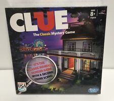 CLUE Board Game New Factory Sealed Hasbro Clue the Classic Mystery Game