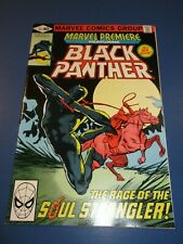 Marvel Premiere #53 Bronze age Black Panther NM- Beauty Wow Frank Miller