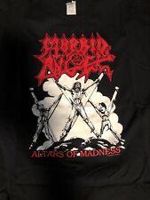 Morbid Angel Shirt XL Altars Of Madness Death Benediction Slayer Cannibal Corpse