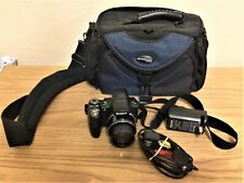 SONY Black Cyber-shot DSC-HX1 9.1MP Digital Camera Battery USB Cable Charger Bag