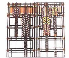Frank Lloyd Wright DANA THOMAS HOUSE Design TRIVET of Absorbent Coaster Stone