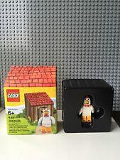 Lego Minifigure 5004468 Chicken Suit Guy With Hut Series 9  Rare - BNIB