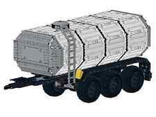 Bauanleitung instruction 42054 Anhänger Gülle Tan Eigenb Unikat Moc Lego Technic
